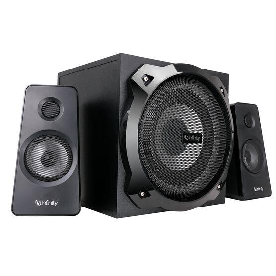 Infinity Octabass 210 - Black - 2.1 Multimedia Speakers - Front