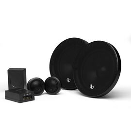 "Infinity Alpha 650C - Black - 6-1/2"" (160mm) Two Way Component Speaker System - Hero"