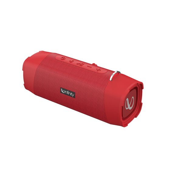 Infinity Clubz 750 - Red - Portable Bluetooth Speaker - Front