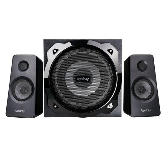 Infinity Octabass 210 - Black - 2.1 Multimedia Speakers - Hero