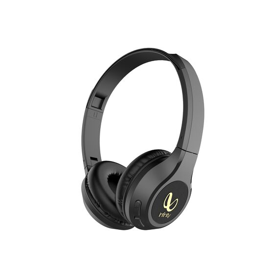 INFINITY TRANZ 700 - Black - Wireless On -Ear Headphones - Hero