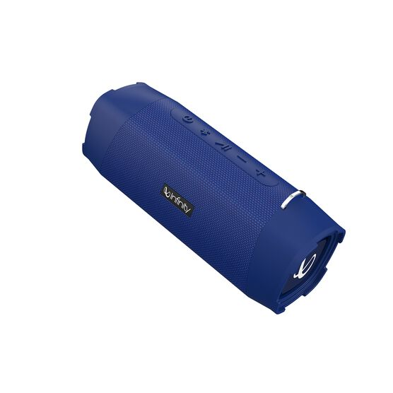 Infinity Clubz 750 - Blue - Portable Bluetooth Speaker - Back
