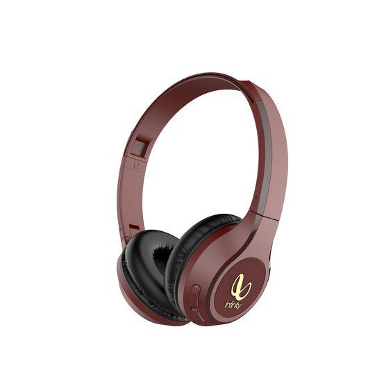 INFINITY TRANZ 700 - Red - Wireless On -Ear Headphones - Hero