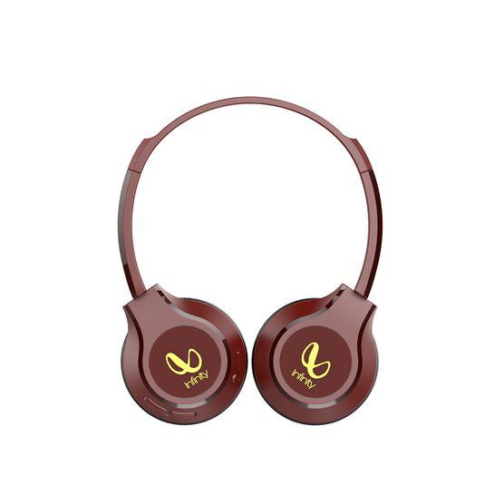 INFINITY TRANZ 700 - Red - Wireless On -Ear Headphones - Left